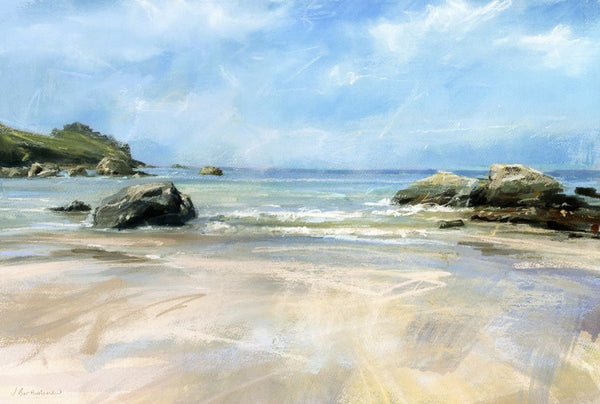 Treen Cove Near Zennor Art Print