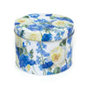 Blue Cornflowers Floral Art Tin