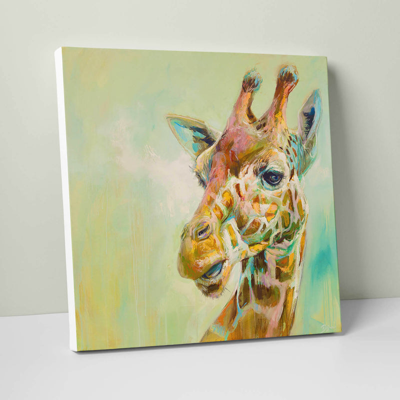 Giraffe Giant Canvas