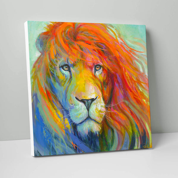 Lion Giant Canvas