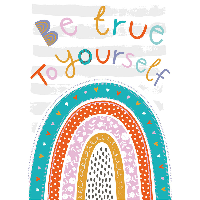 Be True To Yourself Art Print for Children