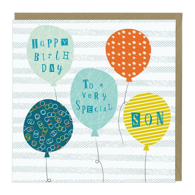 To A Very Special Son Birthday Card Whistlefish