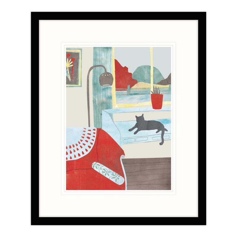 Afternoon Snooze Framed Print