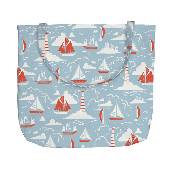 Windy Sailing Tote Bag