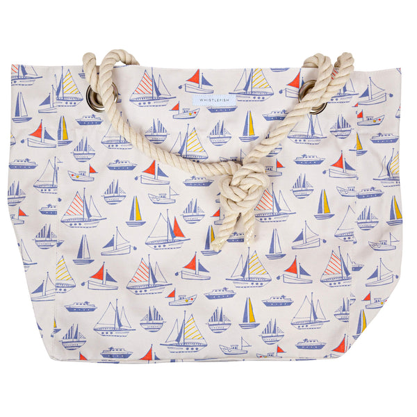 Sail With Me Rope Handle Bag