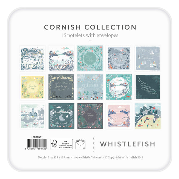 Cornish Collection Notelet Tin