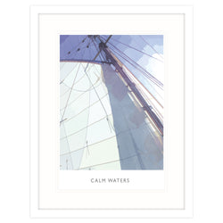 Calm Waters Large Framed Print