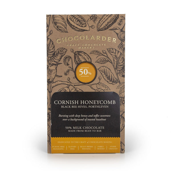 Chocolarder Cornish Honeycomb Chocolate Bar