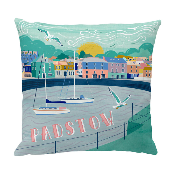 Padstow Harbour Cushion