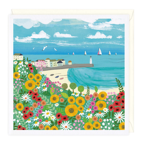 Spring in St Ives Art Card