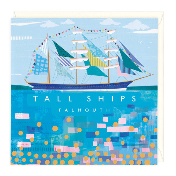 Tall Ships Falmouth Art Card
