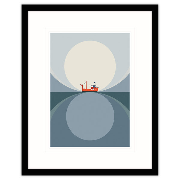 Returning on the Tide Framed Print