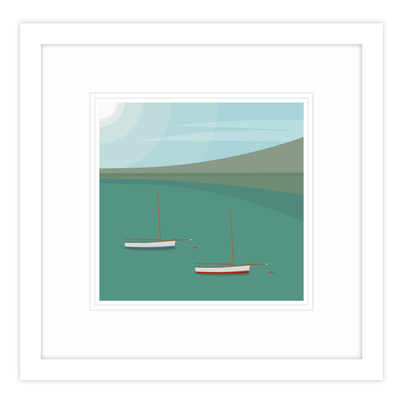 Working Boats II Framed Print