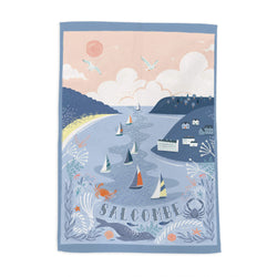 Salcombe Tea Towel