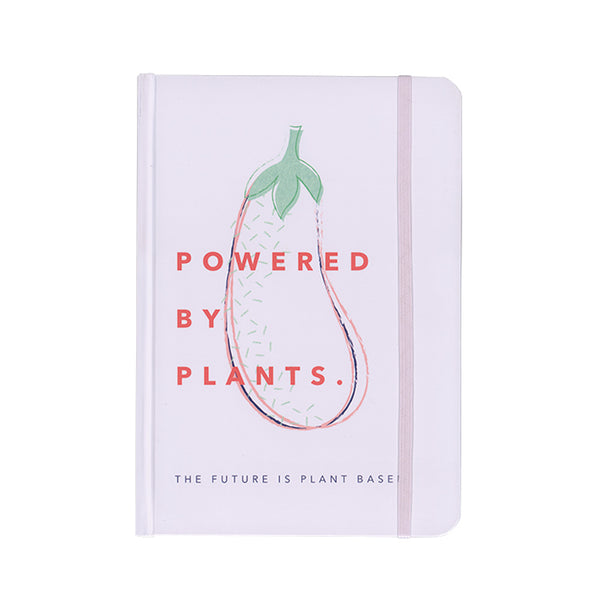 Powered by Plants A5 Notebook