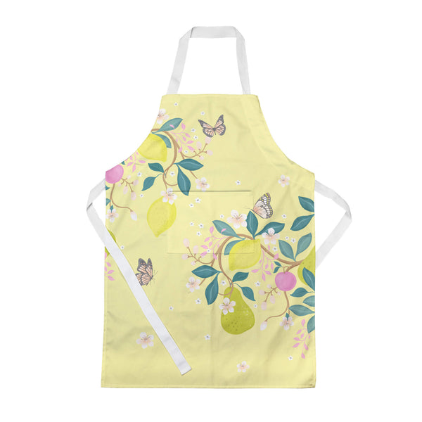 Summer Fruits Yellow Apron