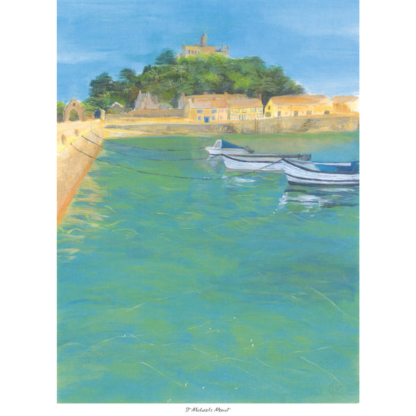 St Michaels Mount Art Print