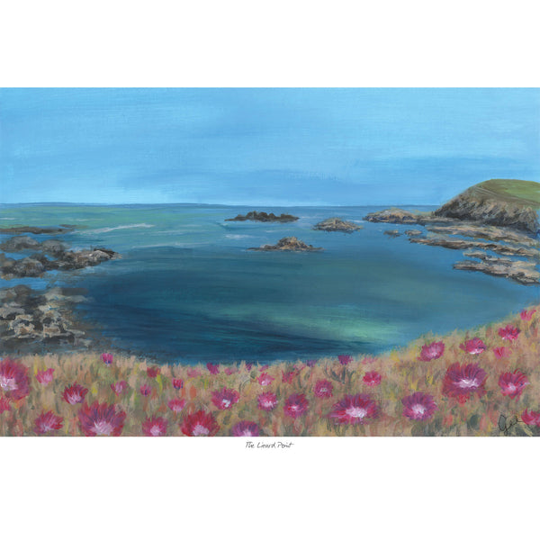 The Lizard Point Art Print