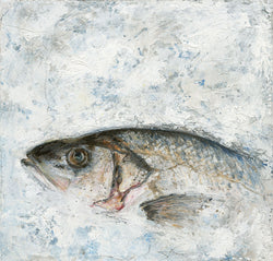 Sea Bass Art Print Large