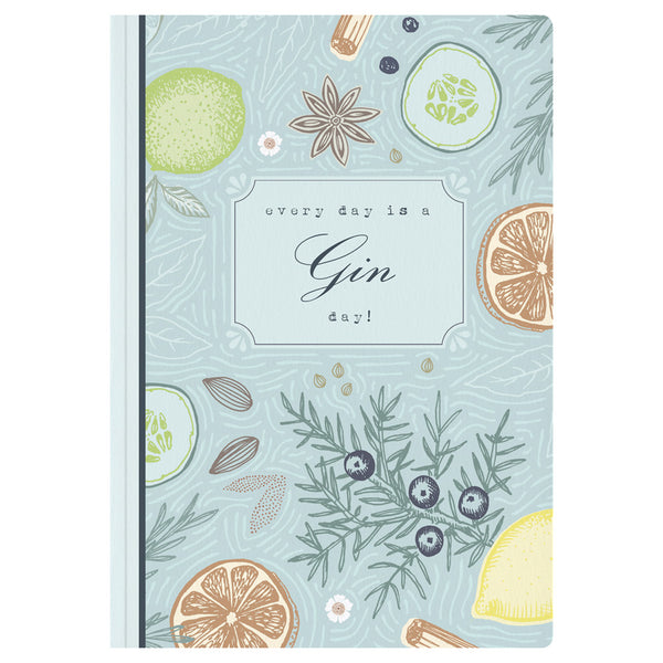 Gin Hamper A5 Notebook