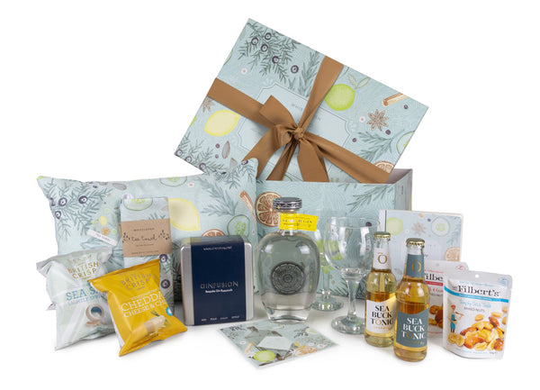 Whistlefish Rosemullion Gin Hamper