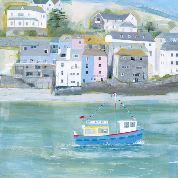 Salcombe Large Art Print