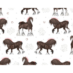 Shire Horse Wrapping Paper