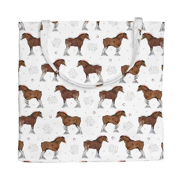 Clydesdale Repeat Tote Bag
