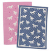 We Love Horses Tea Towel 2 Pack