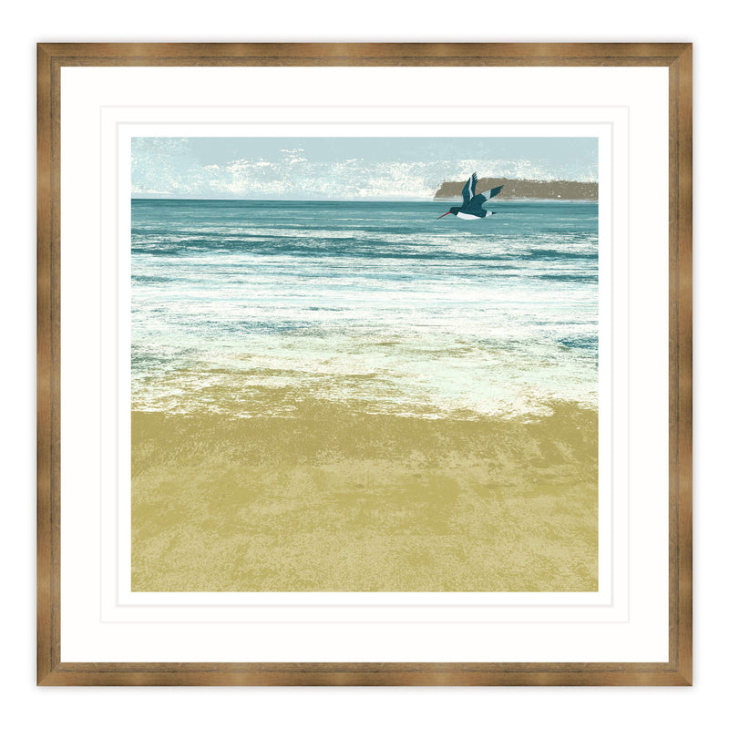 Coming to Shore Framed Print