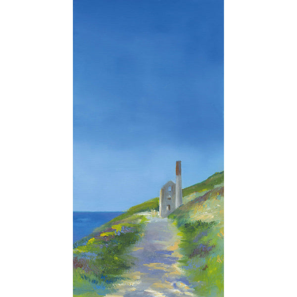 Big Skies, Tin Mine Art Print