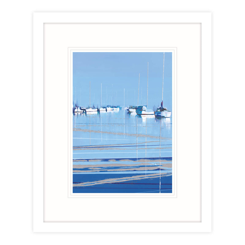 Bright Water Framed Print