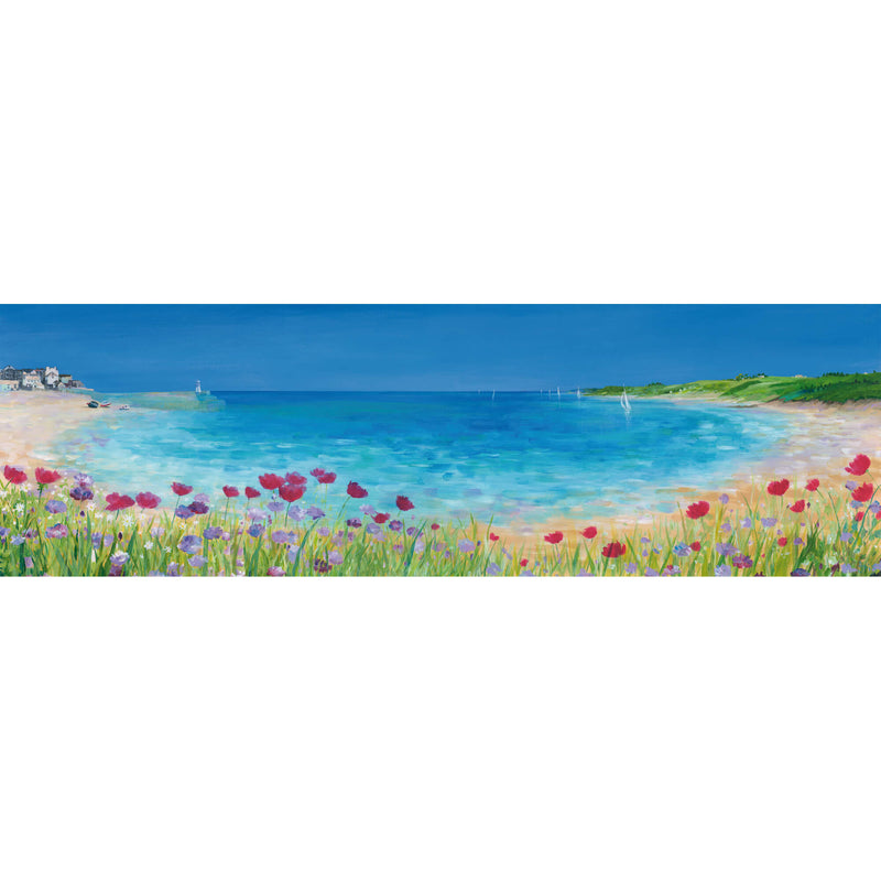 St Ives Summer Bouquet Art Print