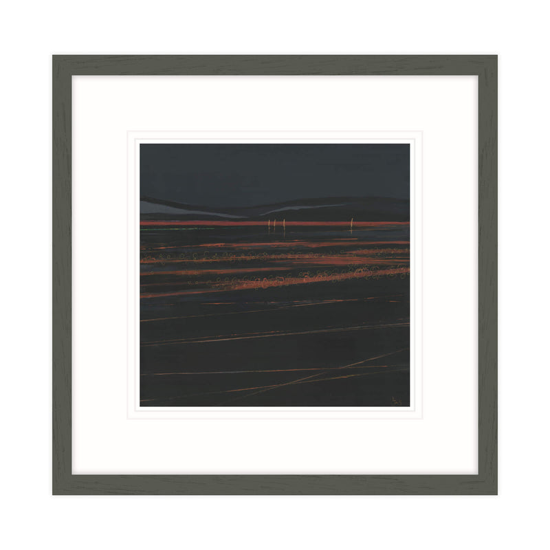 Phosphorescence II Framed Print