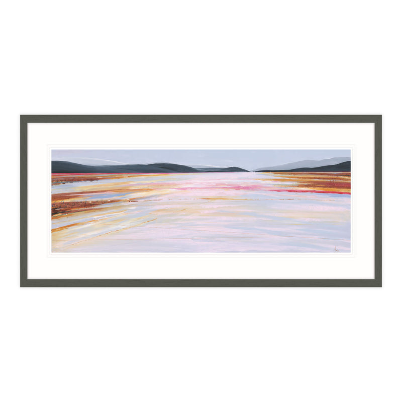 The Gannel Estuary Framed Print