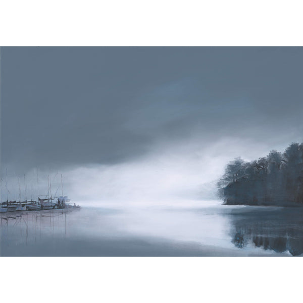 Salcombe Winter Morn Art Print