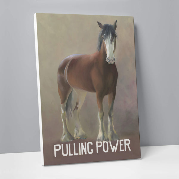 Pulling Power Canvas