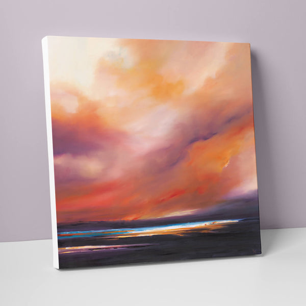 Sunset Fire Canvas