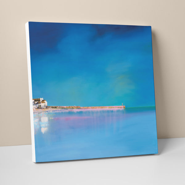 Turquoise Waters, St Ives Canvas