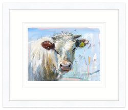 Cruddy Bull Framed