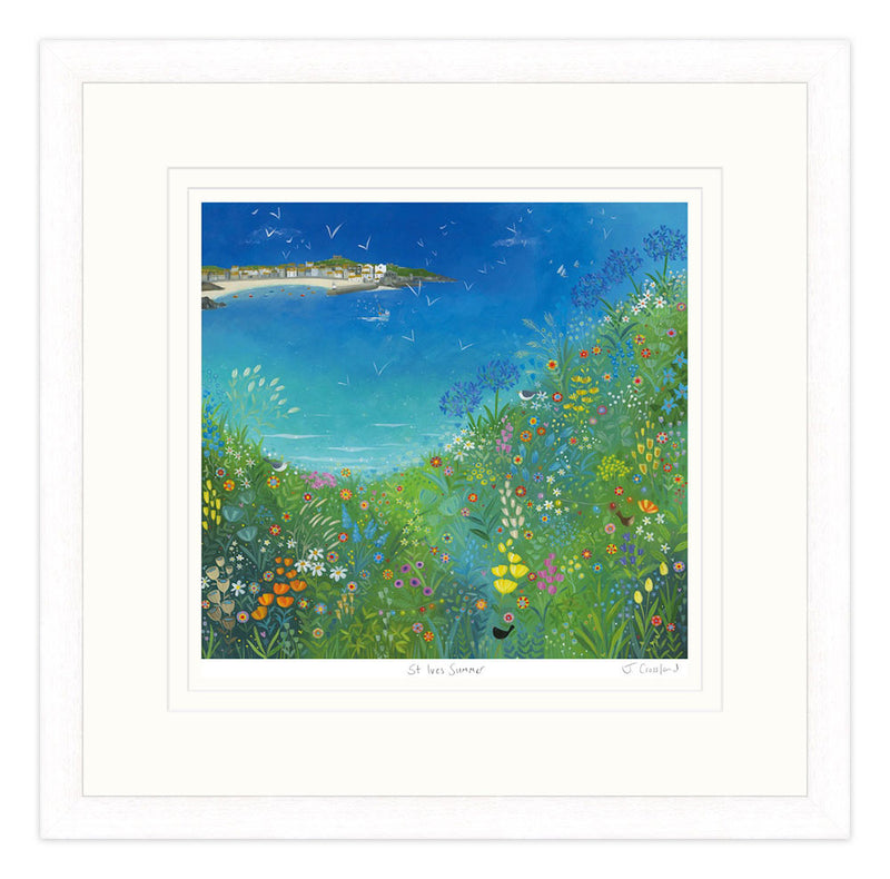 St Ives Summer Framed Print