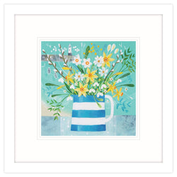 Cornish Posy Framed Print
