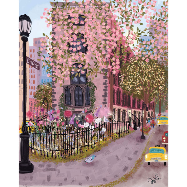 East Village Art Print