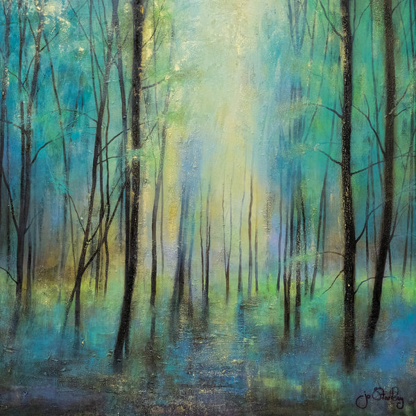 The Lost Forest Large Art Print