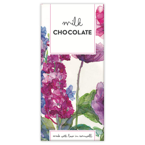 Stocks and Poppies Chocolate Bar