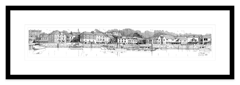 Padstow Harbour Framed