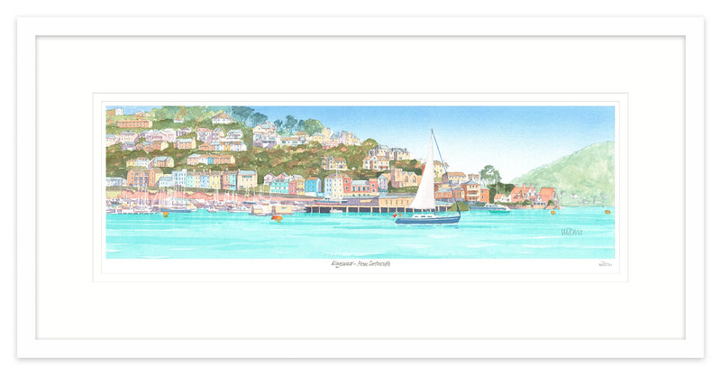 Kingswear from Dartmouth 1 Framed