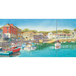 Summer Days, Padstow Art Print