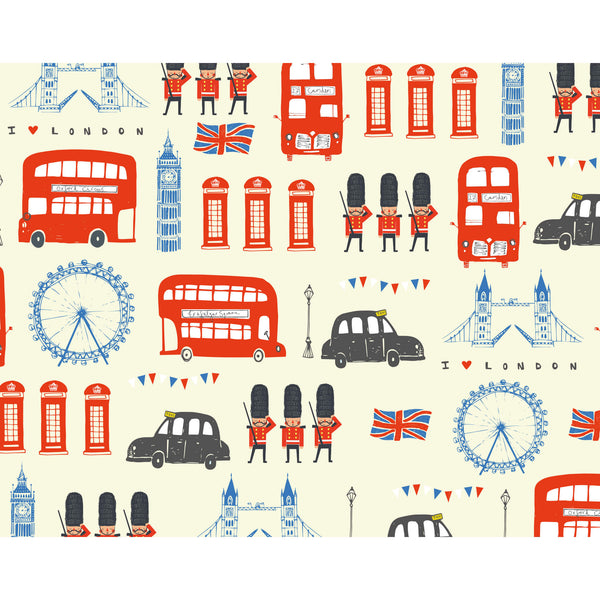 Love London Wrapping Paper