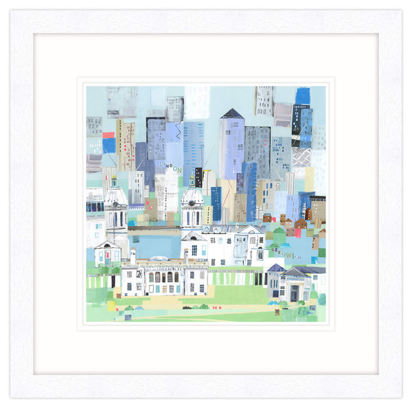 London Greenwich Framed Print